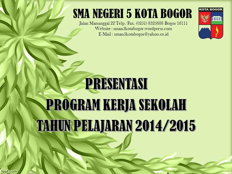 SMA NEGERI 5 KOTA BOGOR Jalan Manunggal 22 Telp./Fax.