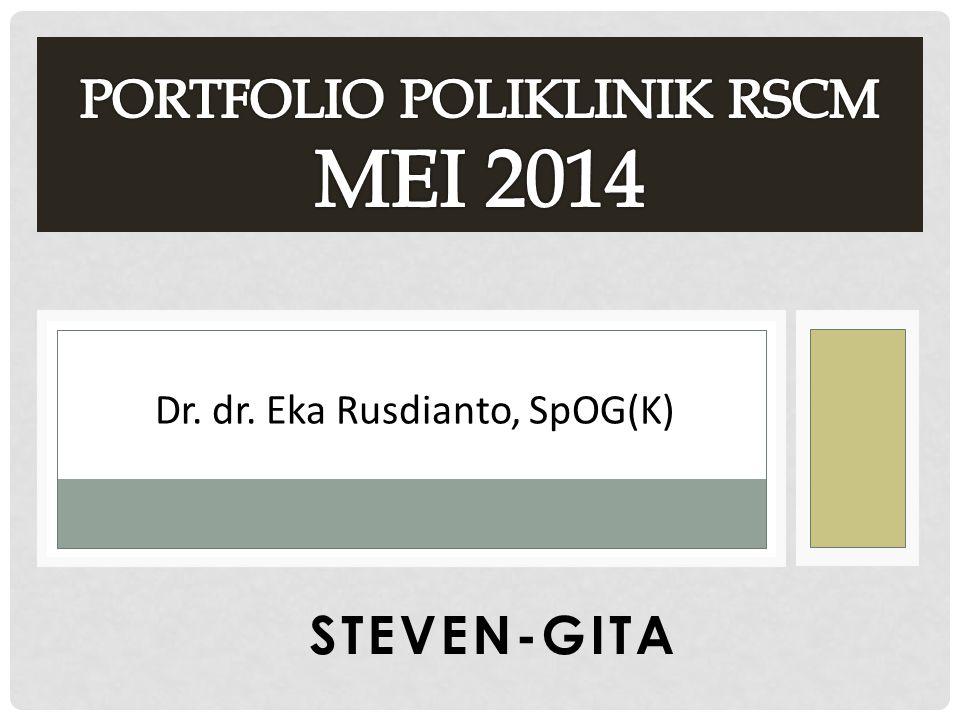 STEVEN-GITA Dr. dr. Eka Rusdianto, SpOG(K)