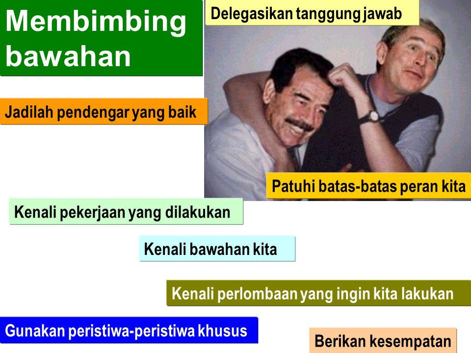 Cara Efektif dalam Pendelegasian Tugas a)Menjelaskan tugas-tugas yang harus didelegasikan b)Menentukan dan memberikan batasan, tanggung jawab, hak, da