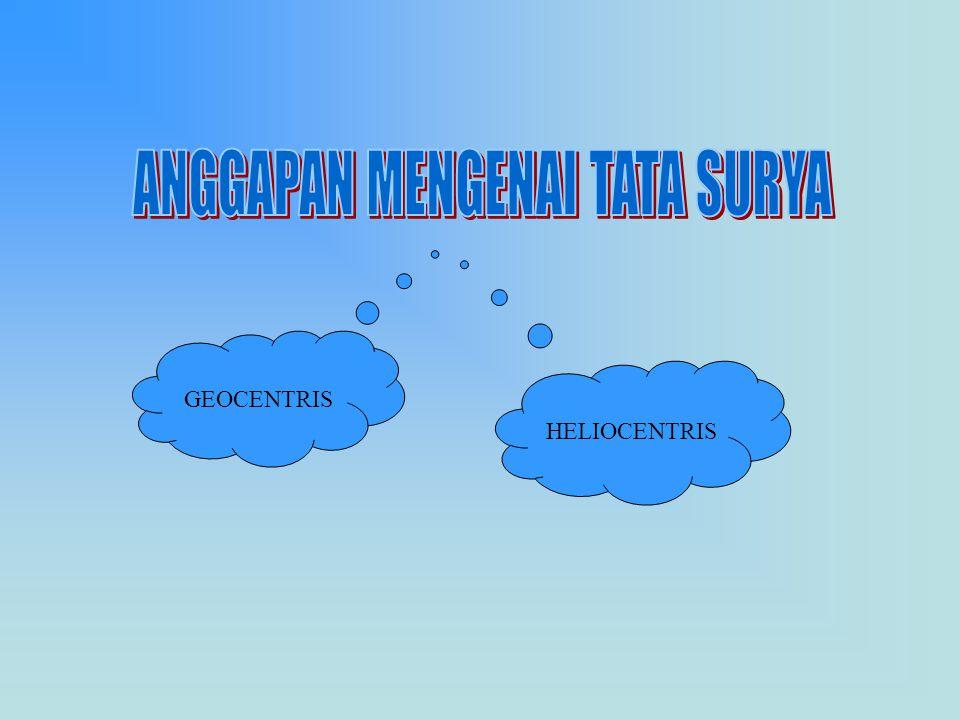 GEOCENTRIS HELIOCENTRIS