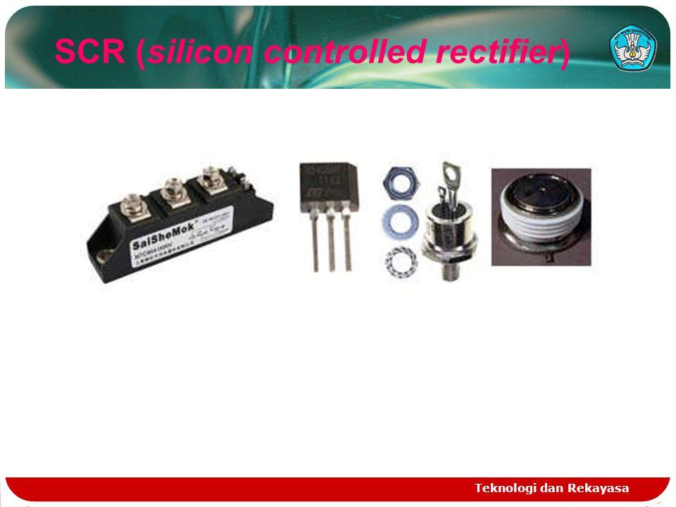 Teknologi dan Rekayasa SCR (silicon controlled rectifier)