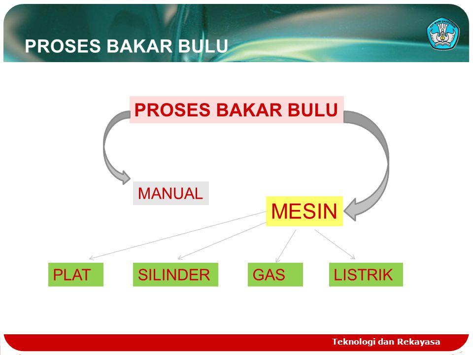 MESIN BAKAR BULU GAS Teknologi dan Rekayasa