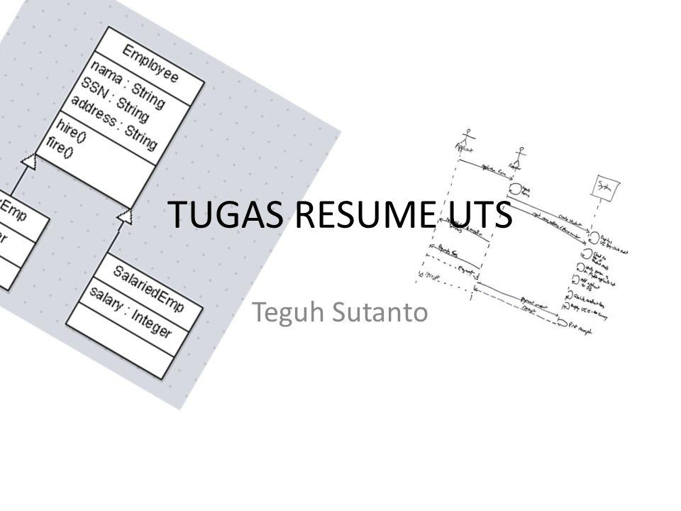 TUGAS RESUME UTS Teguh Sutanto