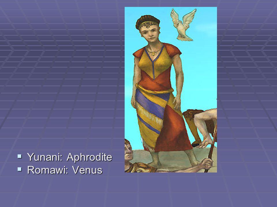  Yunani: Apollo  Romawi: Apollo