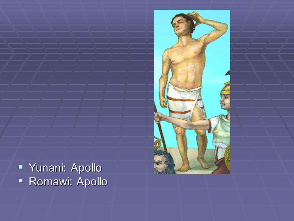  Yunani: Ares  Romawi: Mars