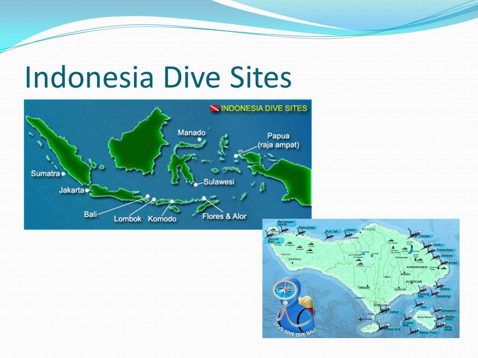 Indonesia Dive Sites