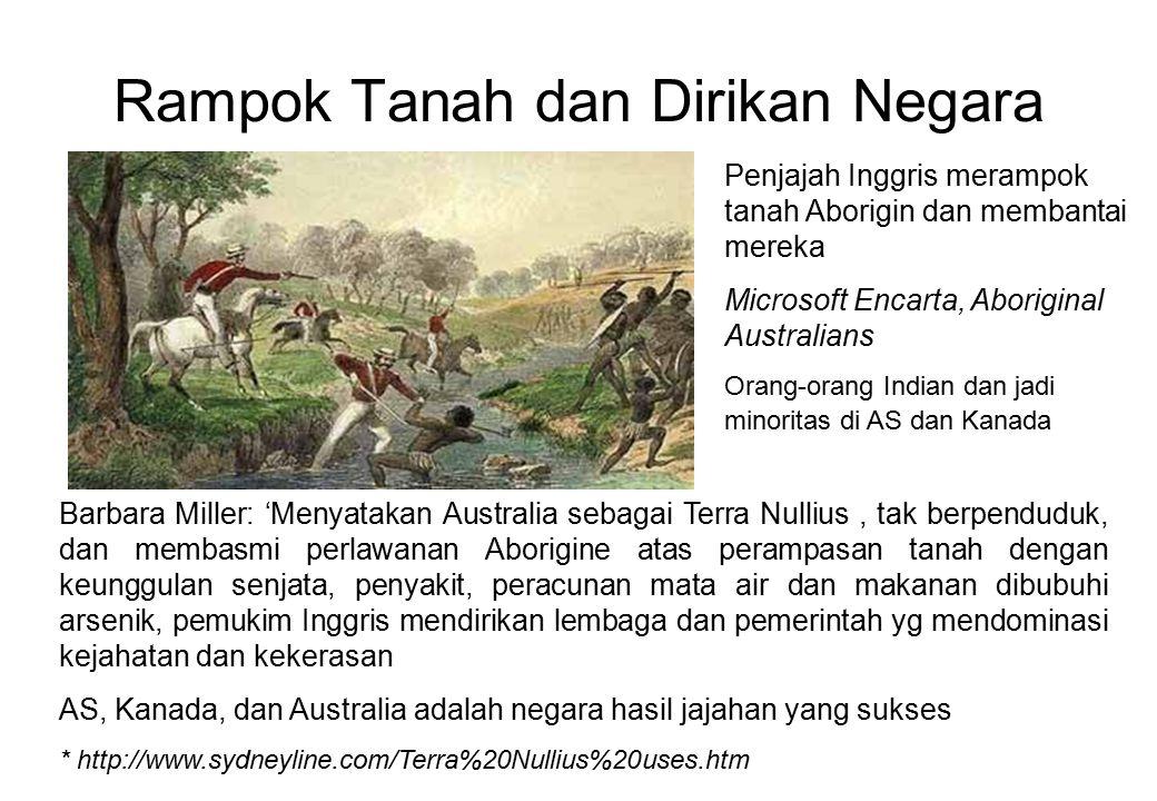 Rampok Tanah dan Dirikan Negara Barbara Miller: 'Menyatakan Australia sebagai Terra Nullius, tak berpenduduk, dan membasmi perlawanan Aborigine atas p