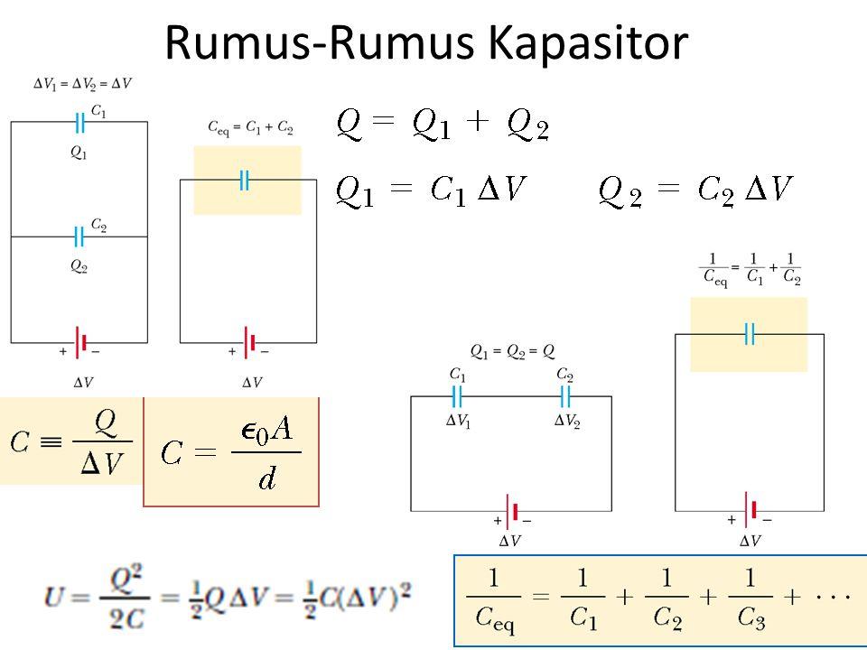 Rumus-Rumus Kapasitor