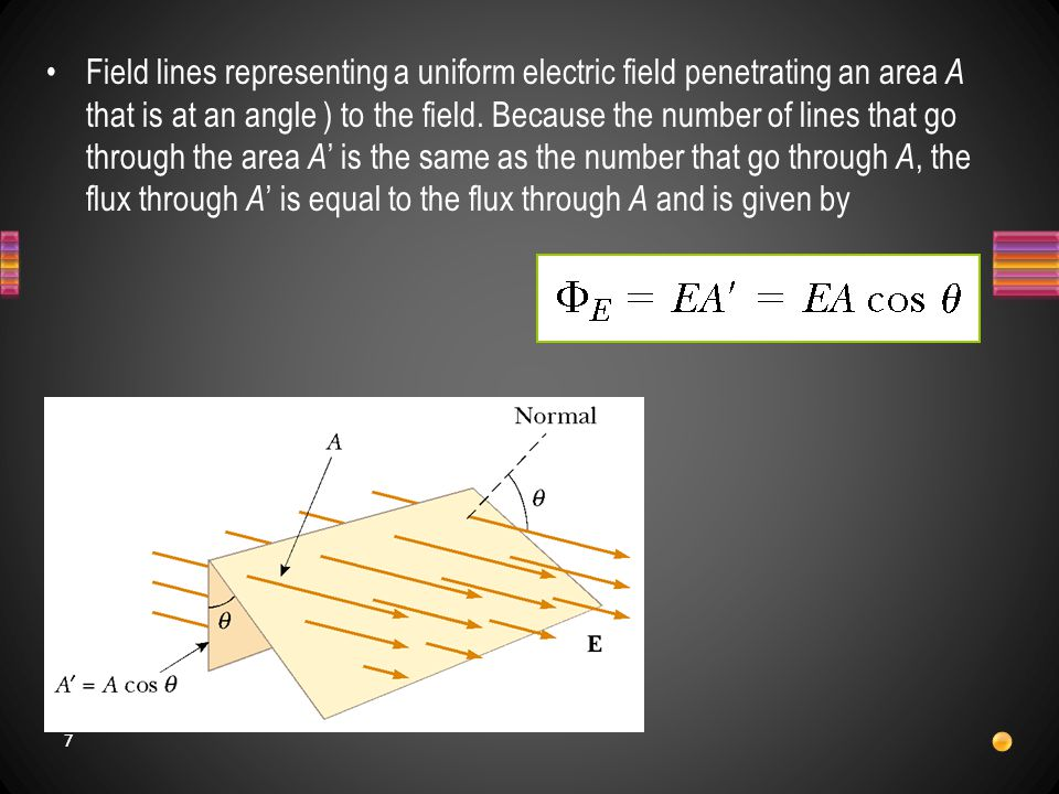 8 A small element of surface area Δ A i.