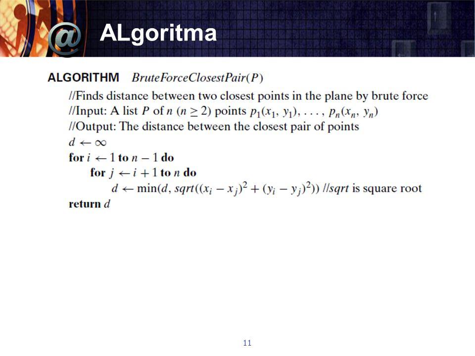ALgoritma 11