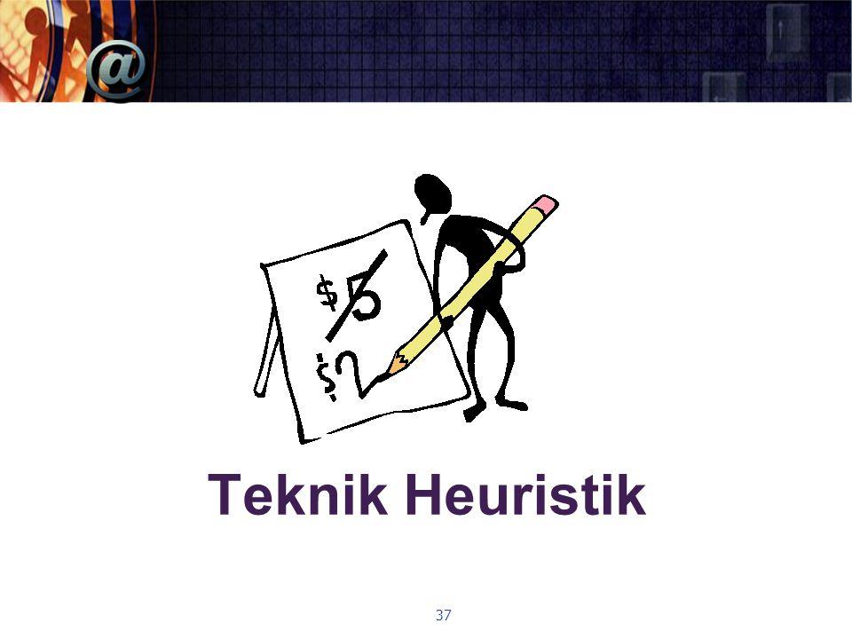 Teknik Heuristik 37