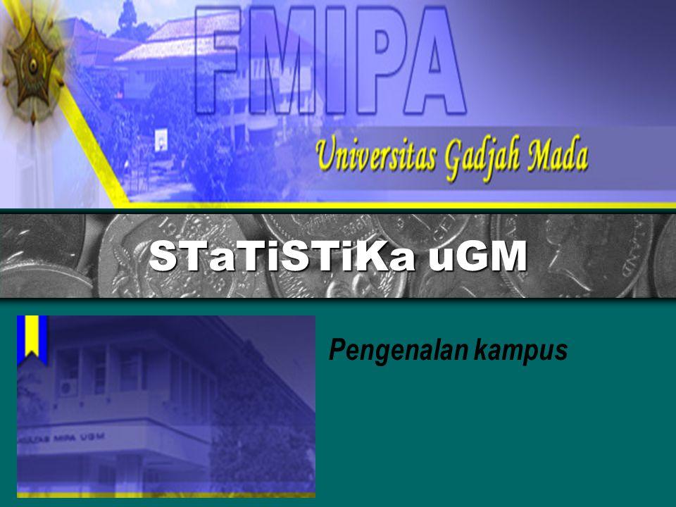 Karir Lulusan Statistika UGM Peneliti / Dosen IBU RUMAH TANGGA ASURANSI RS/Dinas Kesehatan Pemerintahan Industri /Manufaktur PERBANKAN BPS/badan laen