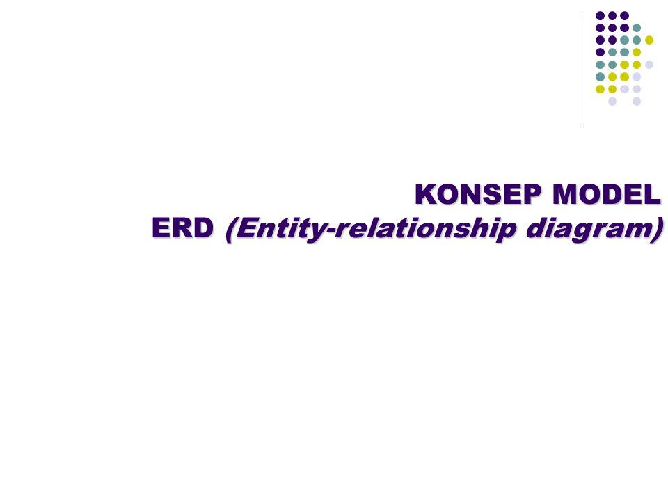 ERD adalah diagram yang digunakan untuk menggambarkan hubungan antar entity dalam suatu sistem.