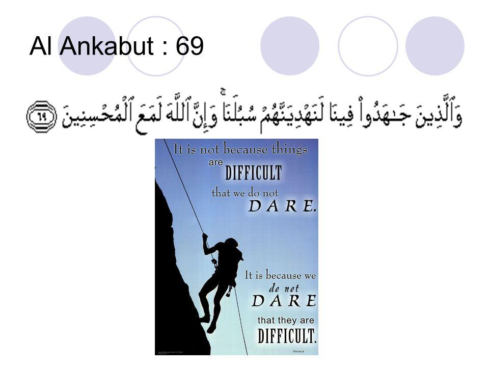 Al Ankabut : 69