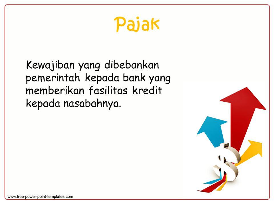 Contoh: PT Bank MArindo menentukan suku bunga deposito sebesar 18% PA kepada para deposannya.