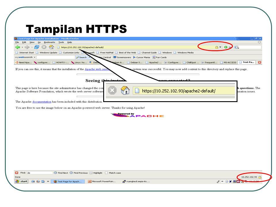 Tampilan HTTPS