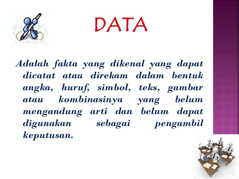 Deskripsi Terkadang peneliti dan analis secara sederhana ingin mencoba mencari cara untuk menggambarkan pola dan kecendrungan yang terdapat dalam data yang dimiliki.