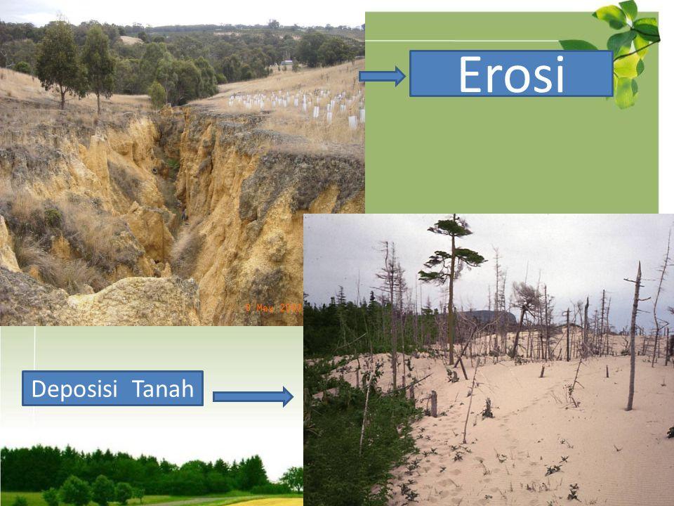 Erosi Deposisi Tanah
