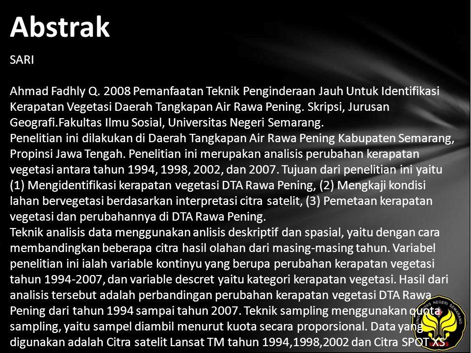 Abstrak SARI Ahmad Fadhly Q.