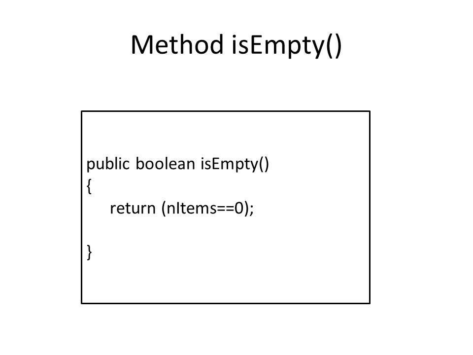 Method peekFront () public int peekFront() { return queArray[front]; }