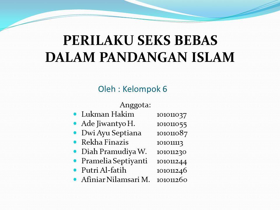 Oleh : Kelompok 6 Anggota: Lukman Hakim101011037 Ade Jiwantyo H.101011055 Dwi Ayu Septiana101011087 Rekha Finazis101011113 Diah Pramudiya W.101011230