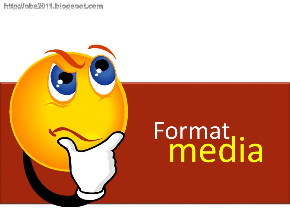 Format media