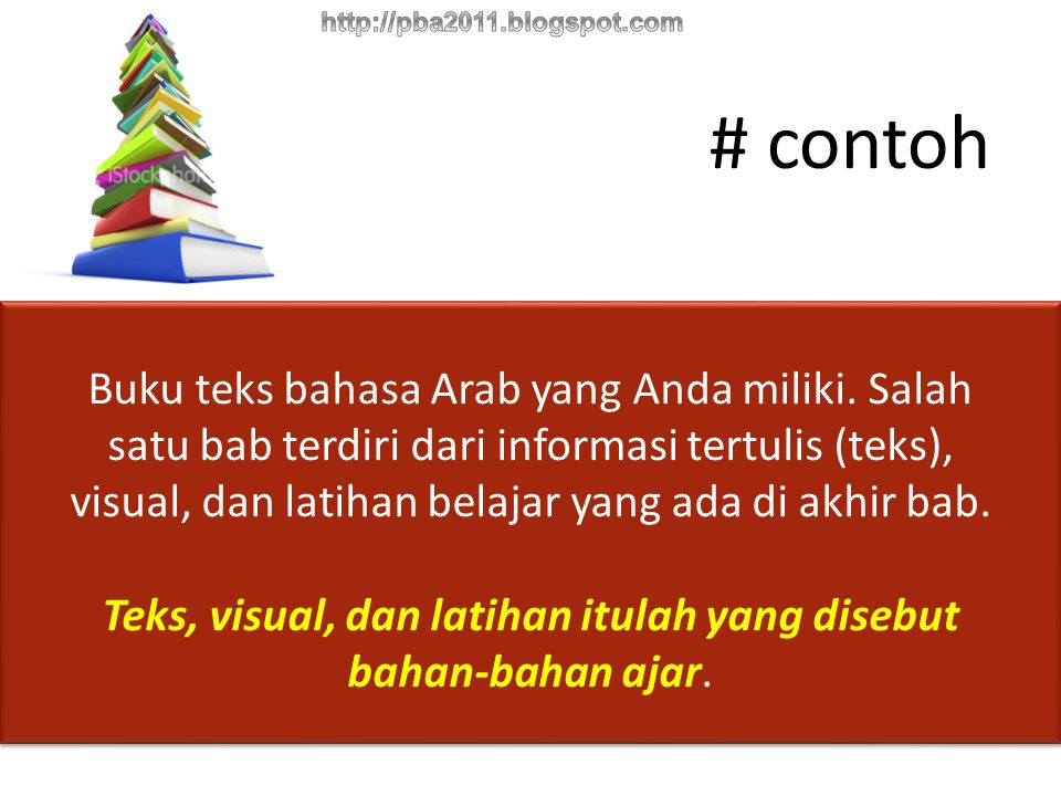 PRINTEDAUDIOAUDIO-VISUAL Interacitive Teaching Material Web Based Learning Materials JENIS-JENIS BAHAN AJAR