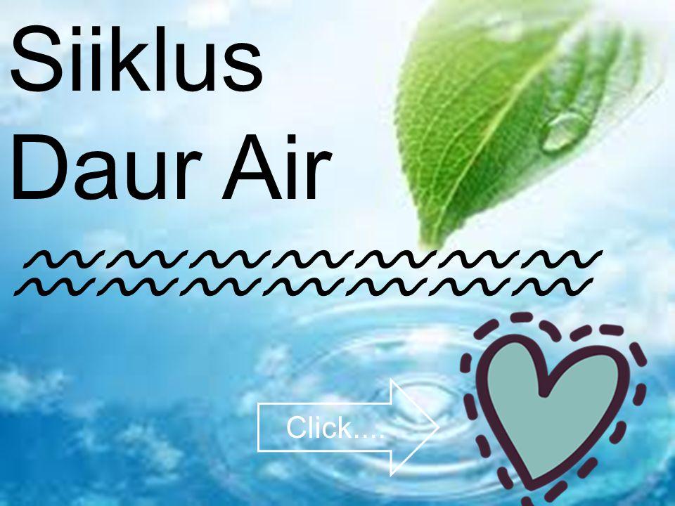 Siiklus Daur Air ♒♒♒♒♒♒♒ Click....