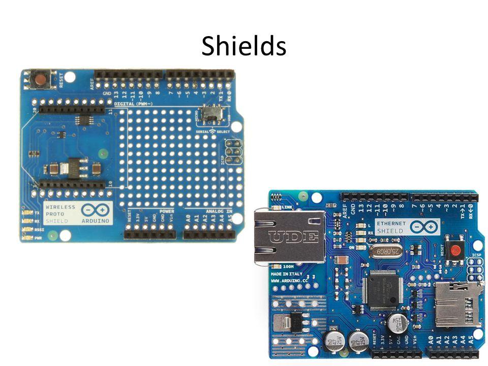 Unofficial Boards and Shields Adafruit Sparkfun DFRobot Itead Studio etc