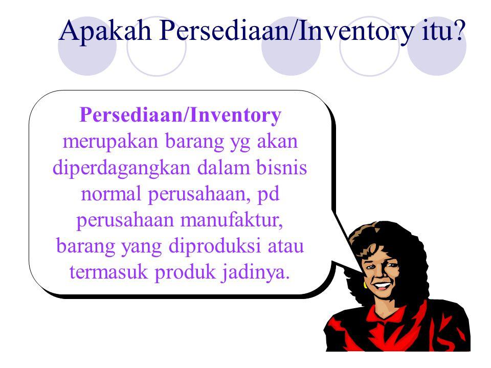 Apakah Persediaan/Inventory itu.
