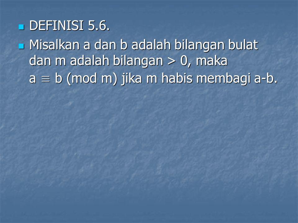 DEFINISI 5.6.DEFINISI 5.6.
