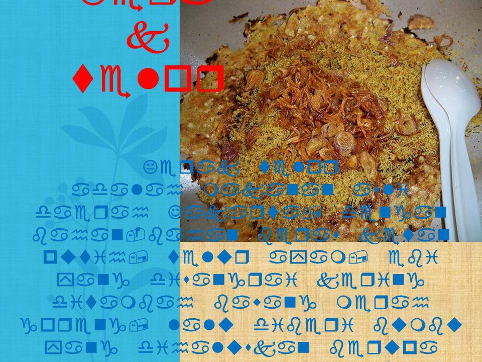 Kerak telor adalah makanan asli daerah Jakarta, dengan bahan-bahan beras ketan putih, telur ayam, ebi yang disangrai kering ditambah bawang merah gore