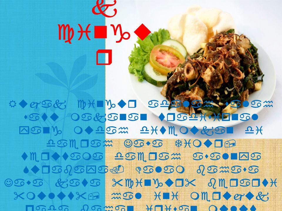 Rujak cingur adalah salah satu makanan tradisional yang mudah ditemukan di daerah Jawa Timur, terutama daerah asalnya Surabaya. Dalam bahasa Jawa kata