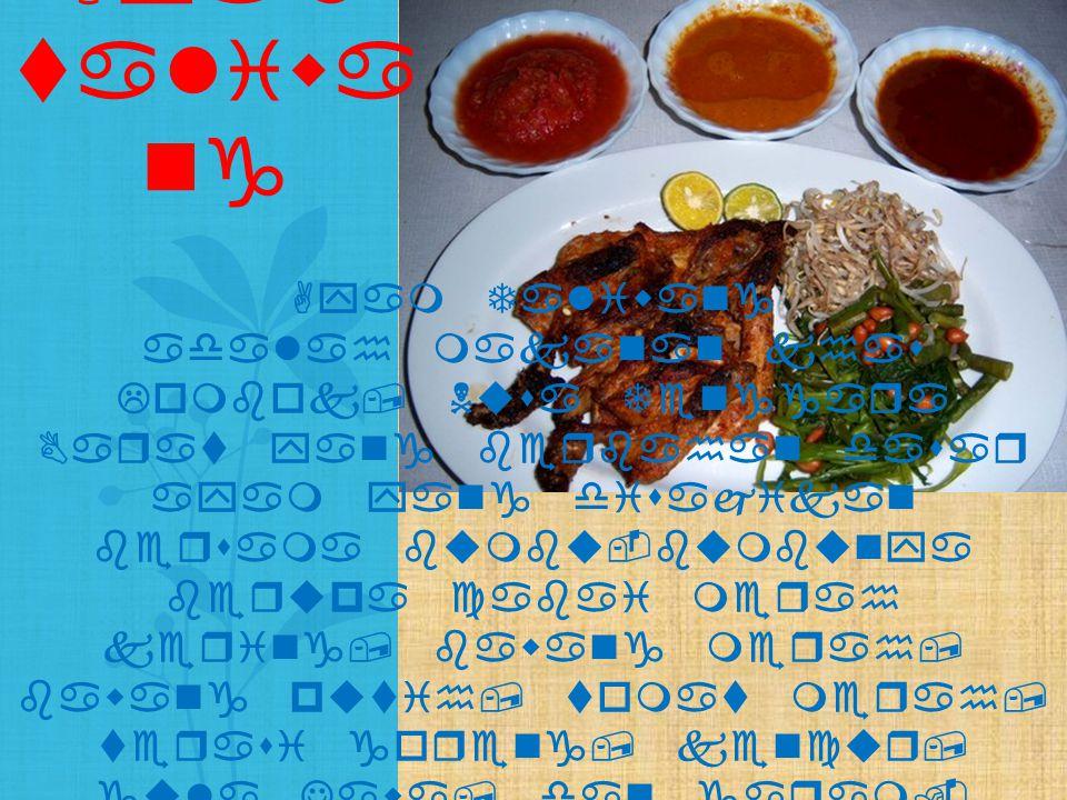 Ayam Taliwang adalah makanan khas Lombok, Nusa Tenggara Barat yang berbahan dasar ayam yang disajikan bersama bumbu-bumbunya berupa cabai merah kering
