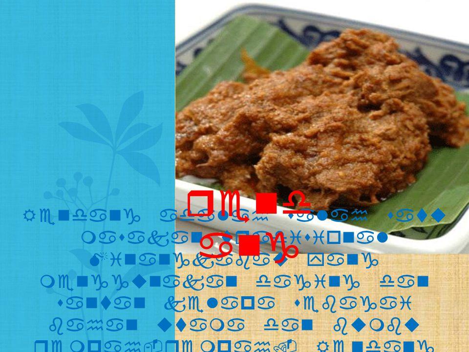 Gudeg adalah makanan khas Yogyakarta dan Jawa Tengah yang terbuat dari nangka muda yang dimasak dengan santan.