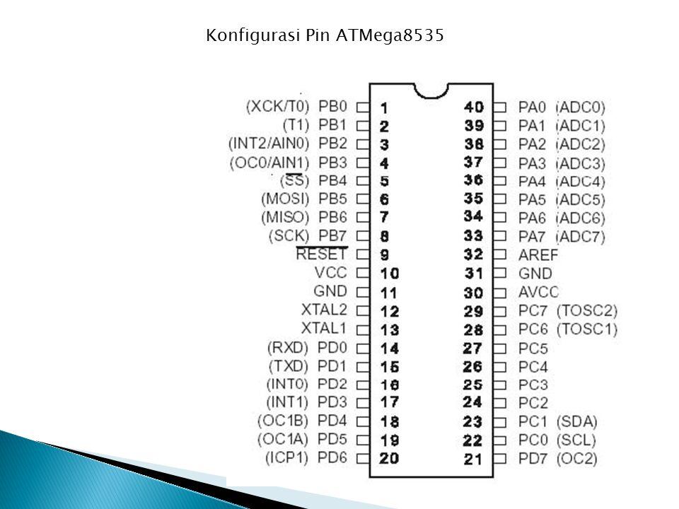 Konfigurasi Pin ATMega8535