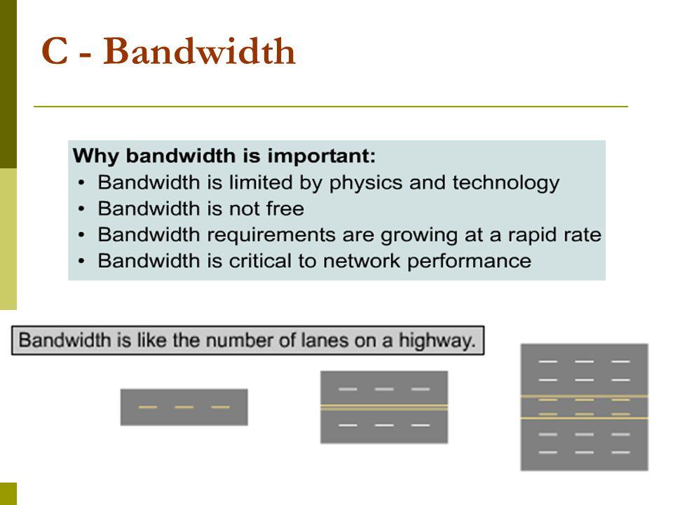 23 C - Bandwidth