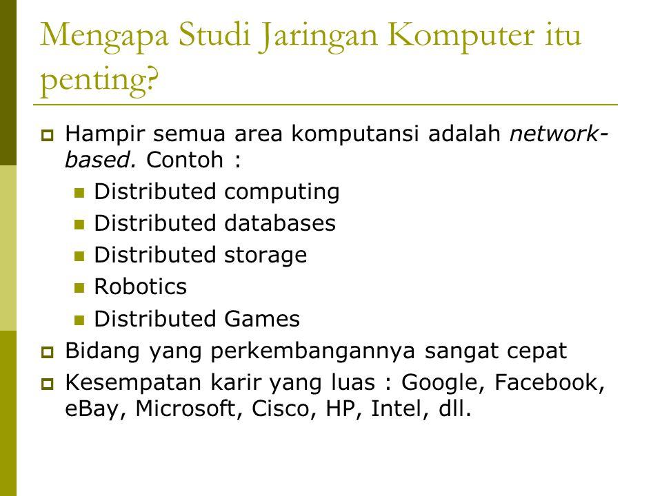 Konsep Dasar Jaringan  Klasifikasi Perangkat Koneksi ke Jaringan Komputer End-user devices Network devices 1.