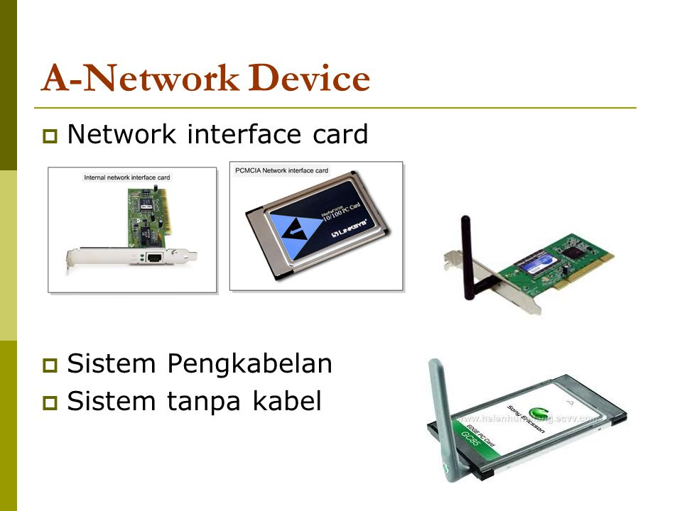 7 A-Network Device Basic Networking Device
