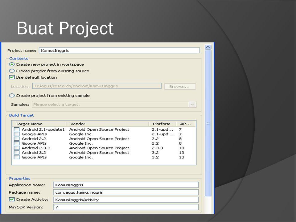 Buat Project