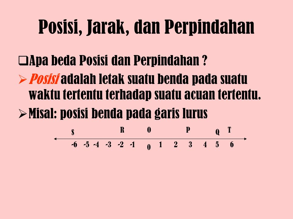 Meanwhile, the distance (jarak) travelled can be found from the area of rectangle (persegi panjang) ABCD in graph as follows: s = area of rectangle ABCD = lengt x width = t 1 – 0 x v 0 – 0 By taking the value of t 1 – 0 = t and v 0 – 0 = v, than: s = v x t Where: s = distance / jarak (m) v = speed or velocity (m/s) t = time (s)