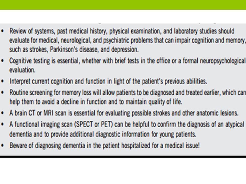 Talking with the family Dokter sebaiknya menggali informasi dari keluarga atau pengasuh pasien.