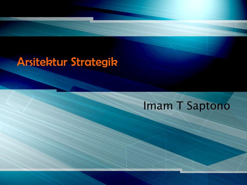 Arsitektur Strategik Imam T Saptono