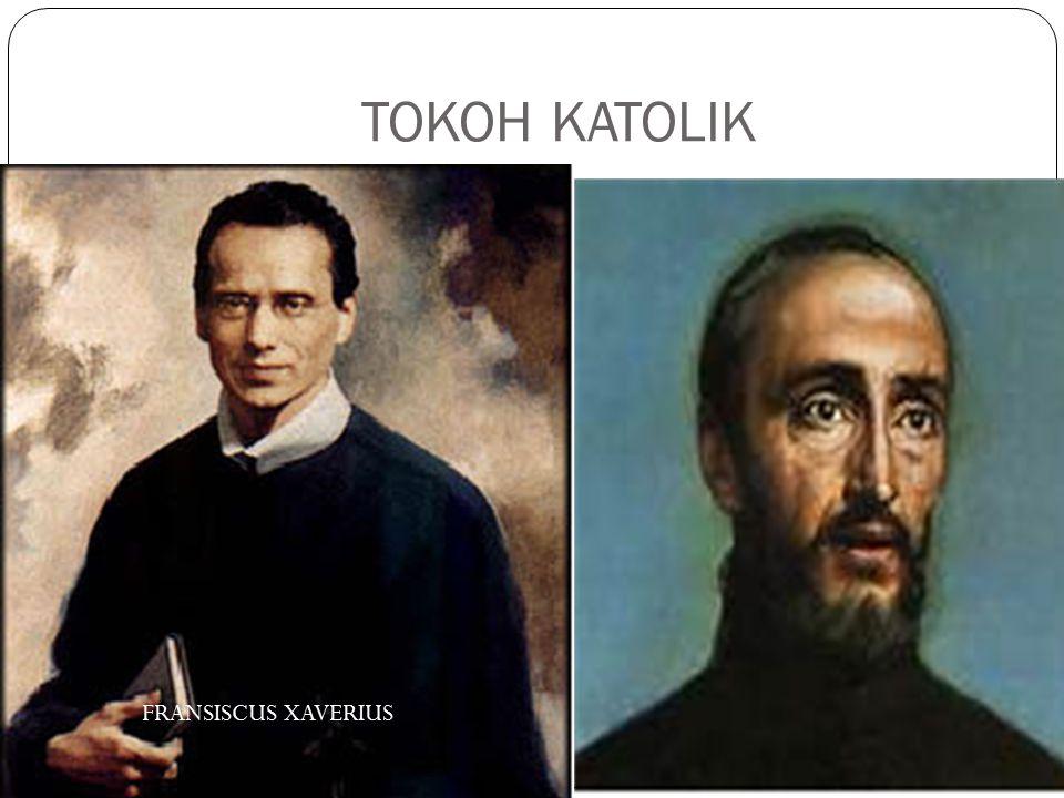 TOKOH KATOLIK FRANSISCUS XAVERIUS ALBERTUS SOEGIJAPRANATA