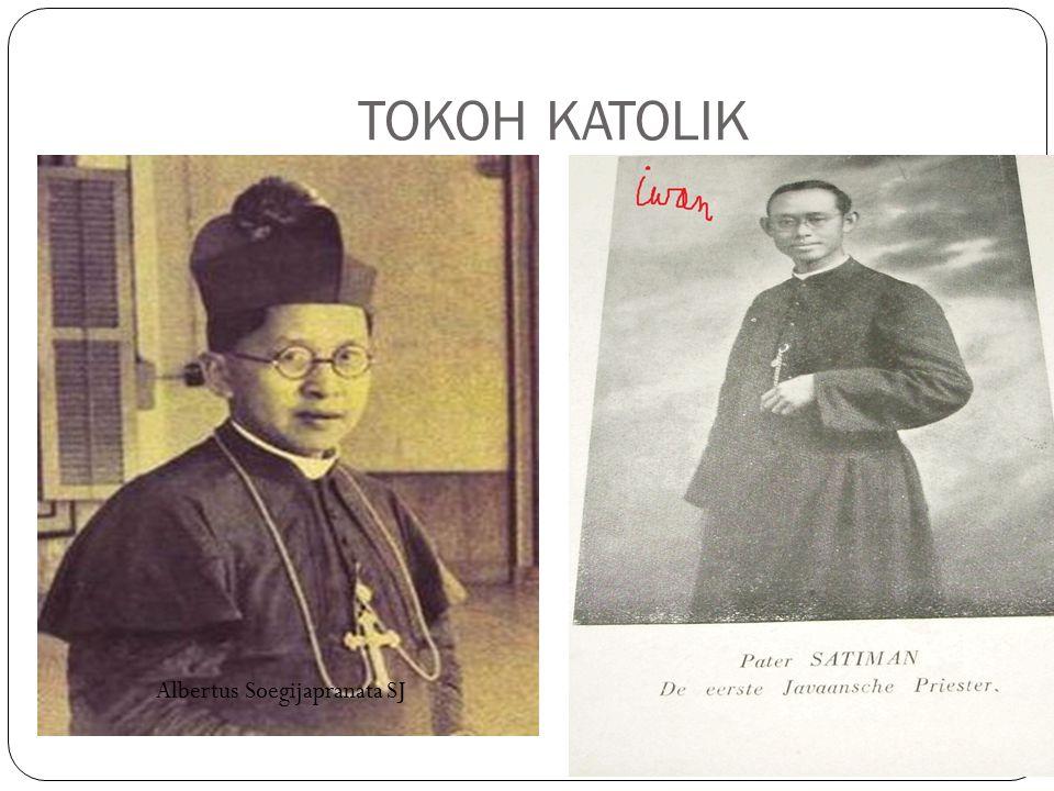 TOKOH KATOLIK Van lith Albertus Soegijapranata SJ