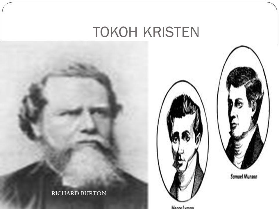 TOKOH KRISTEN RICHARD BURTON