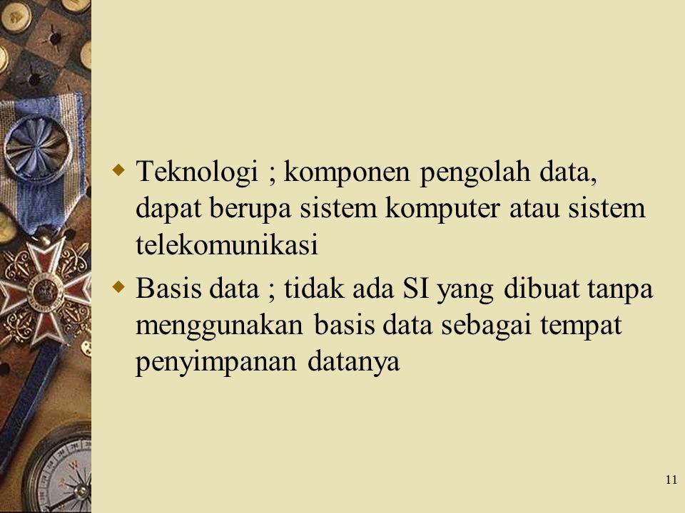 10  Input ; data yang masuk ke dalam sistem sebagai bahan dasar  Model ; mengunakan model logika atau model matematika yang menunjukan suatu proses