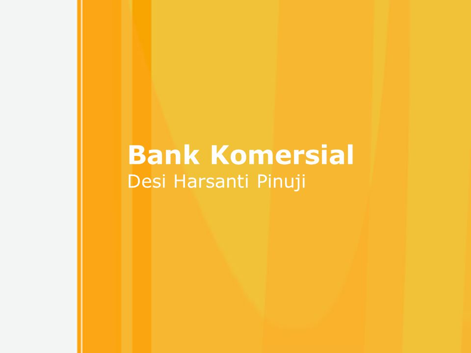 Free Powerpoint Templates 1 Bank Komersial Desi Harsanti Pinuji