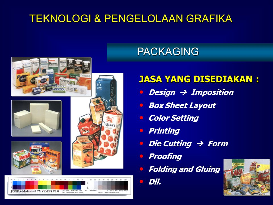 JASA YANG DISEDIAKAN : Design  Imposition Label Sheet Layout Color Management, Color Setting Printing Die Cutting  Form Proofing Gluing Dll. LABELIN