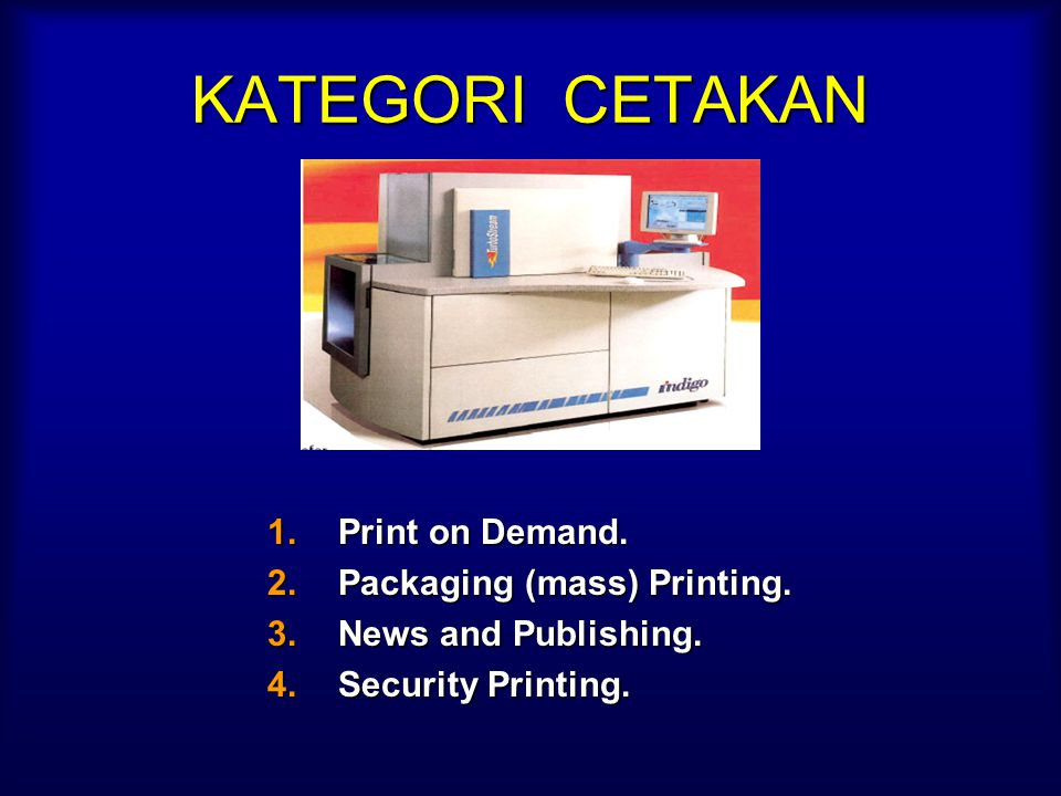 CONVENTIONAL PRINTING CONVENTIONAL PRINTING (With master image carrier) SCREENSCREENFLEXOFLEXO LITHOLITHOGRAVUREGRAVURE Solvent UV Credit Cards Scratc